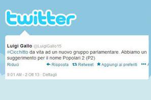 La scandalosa fiducia al Letta BIS tweet dopo tweet