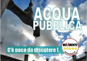 Che succede se anche l'Europa vuole privatizzare l'Acqua Pubblica?