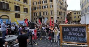 I docenti protestano perchè il #Ddl #BuonaScuola fa schifo!