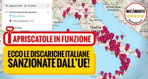 Ecco le discariche sanzionate dall'UE! La Campania rischia una multa da 9 milioni e mezzo
