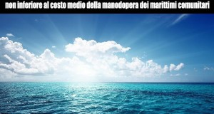 Sulla vertenza dei marittimi ora serve la volontà politica di intervenire sulle agevolazioni fiscali