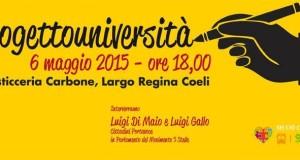 Con il #ProgettoUniversità vogliamo portare le qualità delle migliori Università mondiali in Italia