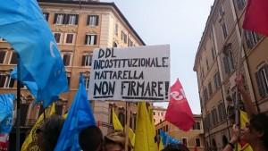 Faremo capire a Mattarella che questo ddl si può non firmare!