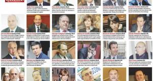 Pd, Ncd, Forza Italia e Lega: tutti gli 80 indagati in Parlamento