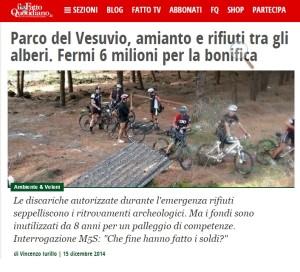 Tutto quello che sta accadendo nel Parco Nazionale del Vesuvio