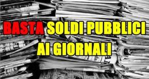 Contro il finanziamento ai giornali, per la vittoria di un'informazione orizzontale