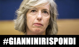 #GianniniRispondi Dalla propaganda del Pd alle #100 contestazioni dei cittadini