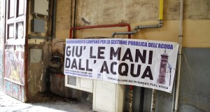 Fuori la GORI dai nostri territori, la nostra battaglia per l'acqua pubblica in Campania