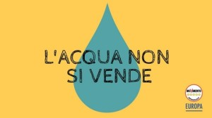 #AcquaBeneComune Quando lobby e multinazionali decidono di chiudere i rubinetti