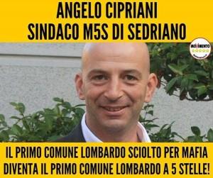 M5S CONQUISTA PRIMO COMUNE IN LOMBARDIA. E' SEDRIANO, COMUNE SCIOLTO PER MAFIA