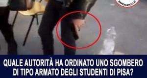 Alfano riferisca sull'irruzione armata a Pisa contro gli studenti