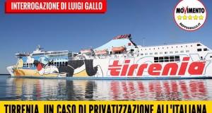 TIRRENIA, PRIVATIZZAZIONE ALL'ITALIANA: A DISCAPITO DEI CITTADINI E SOTTO INFRAZIONE UE