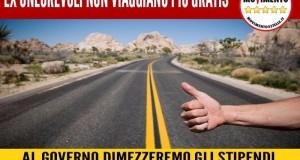 GRAZIE AL M5S GLI EX ONOREVOLI NON POTRANNO PIU' VIAGGIARE GRATIS!