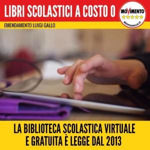 LIBRI SCOLASTICI A COSTO ZERO! LA MIA PROPOSTA E' GIA' LEGGE DAL 2013