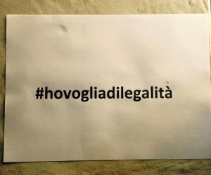HO VOGLIA DI LEGALITA'! OGGI A QUARTO CON ROSA CAPUOZZO PER UN FLASH MOB CONTRO LA CAMORRA