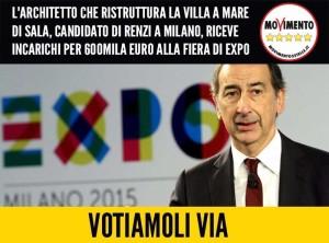 #VOTIAMOLIVIA! INCARICHI ALLA FIERA DI EXPO PER L'ARCHITETTO DI SALA E SOLDI AI PARTITI ESTINTI!