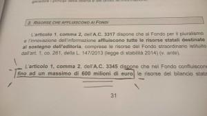 CENSURA DI STATO, 600 MILIONI DI EURO IN ARRIVO AI GIORNALI CONTOLLATI DAL GOVERNO