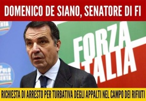 IL PD VOTA CON FORZA ITALIA CONTRO L'ARRESTO DI DE SIANO: DIFENDONO GLI STESSI INTERESSI!
