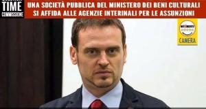 SOCIETA' PUBBLICA DEL MINISTERO DEI BENI CULTURALI SI AFFIDA ALLE AGENZIE INTERINALI PER LE ASSUNZIONI