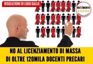 120MILA DOCENTI PRECARI DELLA SCUOLA RISCHIANO DI NON AVERE PIU' UN CONTRATTO, MOBILITIAMOCI!!