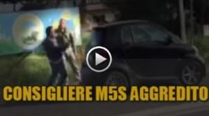 AGGREDITO CONSIGLIERE M5S DEL COMUNE DI GIUGLIANO, IN PIENA TERRA DEI FUOCHI