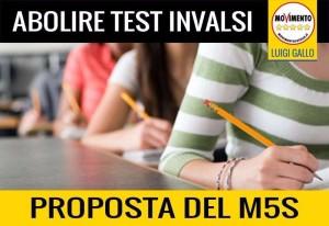 STUDENTI NON NUMERI! UNA PROPOSTA M5S PER LA SCUOLA: ABOLIRE I TEST INVALSI!