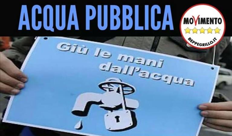 ACQUA, GALLO (M5S): GORI ACCUMULA DEBITI, SVENTARE AUMENTI BOLLETTE CHE AVVANTAGGERANNO PRIVATI