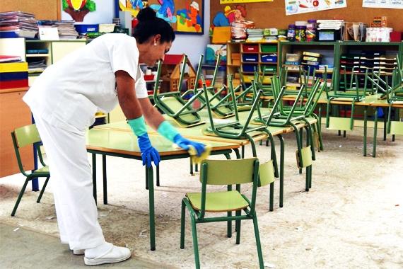 scuole pulizia