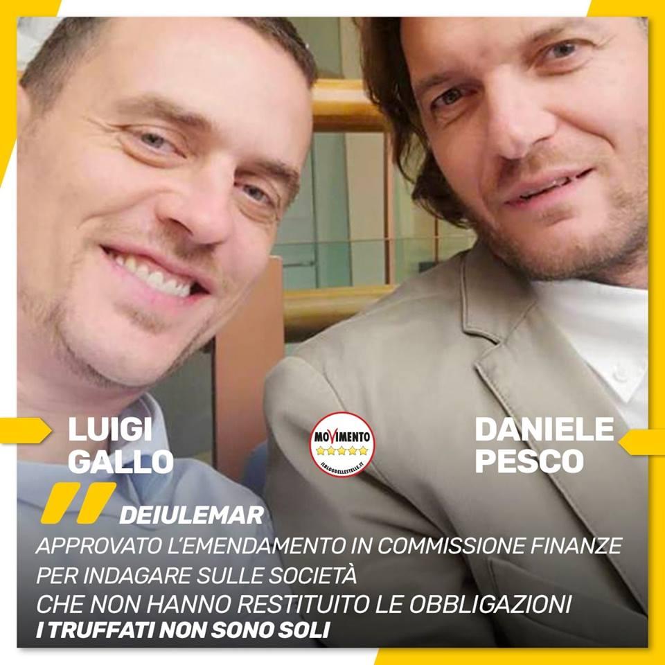 la commissione banche indagherà sulla #Deiulemar