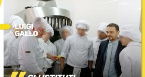 Visita presso l'istituto alberghiero Andrea Torrente di Casoria - NA