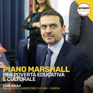 Piano Marshall per povertà educativa e culturale