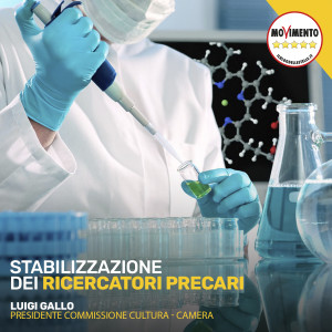 Interrogazione in Commissione Cultura sulla stabilizzazione dei ricercatori precari