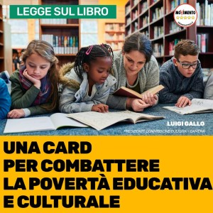 Una card per combattere la povertà educativa e culturale