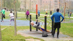 Arriva lo sport nei parchi